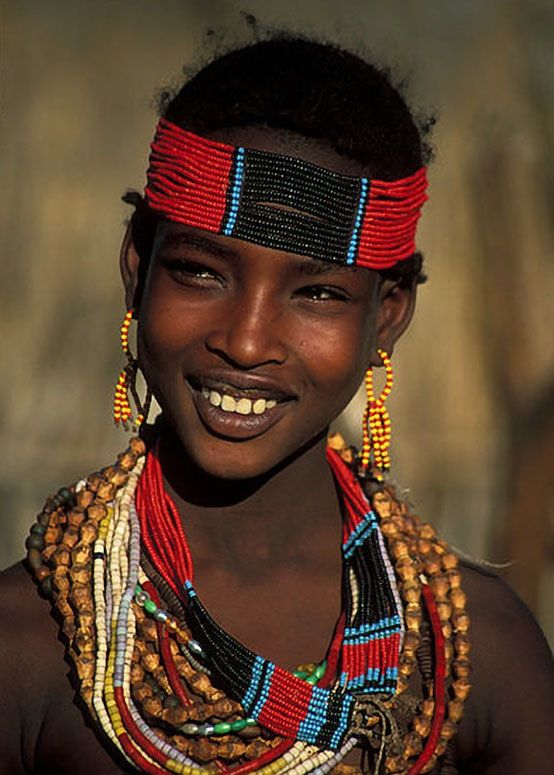 Young woman, Africa