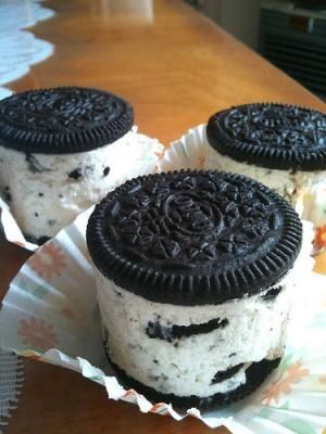 I found 'Mini Oreo Cheesecakes' on Wish, check it out!