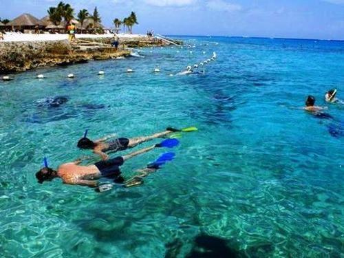 Cozumel Chankanaab Park Snorkel and Beach Excursion Combo