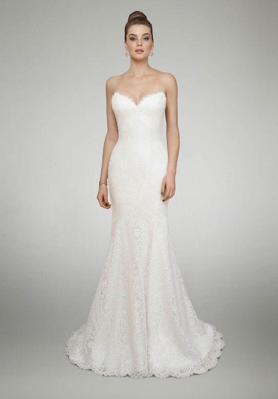 Strapless sweetheart neckline wedding dress | Matthew Christopher 'Aster' | http://trib.al/MJSrkYb