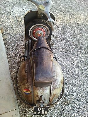 A Rusty Vespa GS Scooters are cool... Like scooters is not cool But still! Sexy