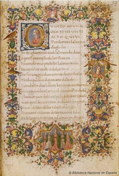 I trionfi. Petrarca, Francesco 1304-1374 — Manuscrito — 1401-1500?