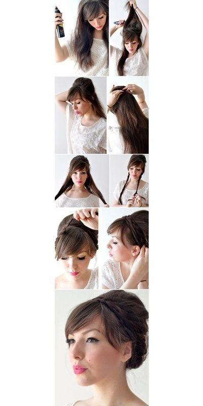 D.I.Y Hair Style Braid For Long Hair