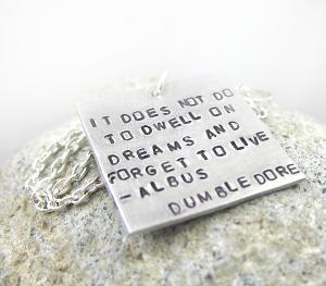 true story  : Birthday Presents, Dumbledore Quotes, Dreams, Harry Potter Necklaces, Albus Dumbledore, Harry Potter Quotes, Quotes Necklaces, Wise Words, Dumbledore Necklaces
