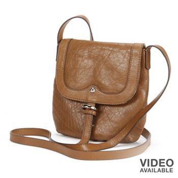 PAVA Elephant Leather Crossbody Bag