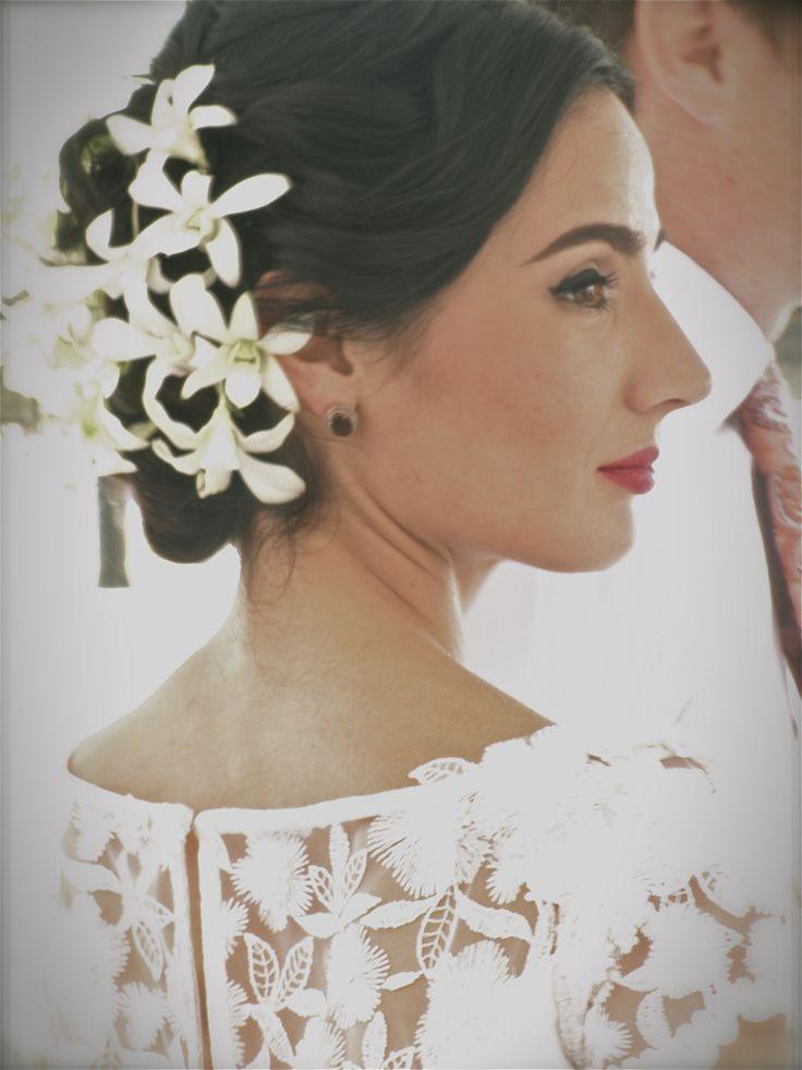 Hair/Flowers/ Bride
