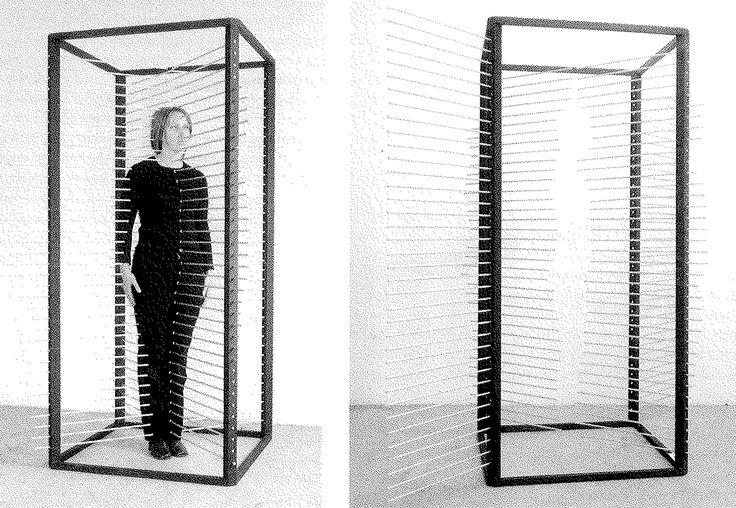 Rebecca Horn   Measure Box, 1970