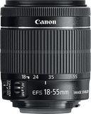 Canon - EF-S 18-55mm f/3.5-5.6 IS STM Standard Zoom Lens - Black