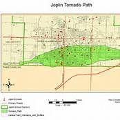 Joplin Missouri Tornado Map