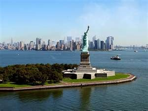 Visit the Statue of Liberty-check!