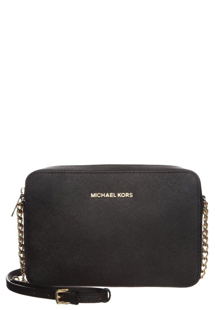 Bestill MICHAEL Michael Kors JET SET - Skulderveske - black for kr 1395,00 (12.02.16) med gratis frakt på Zalando.no