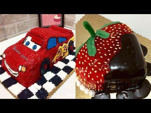 Diy Decoração de bolos incríveis compilados - YouTube