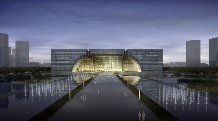 gmp architekten: changzhou culture center