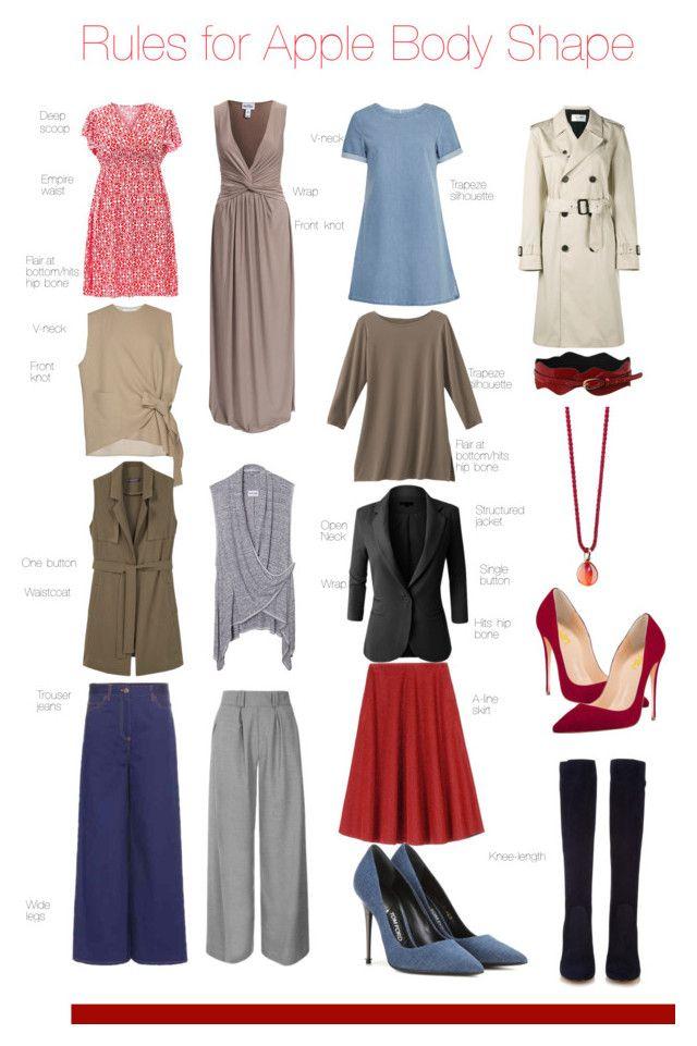 Dress style by body shape