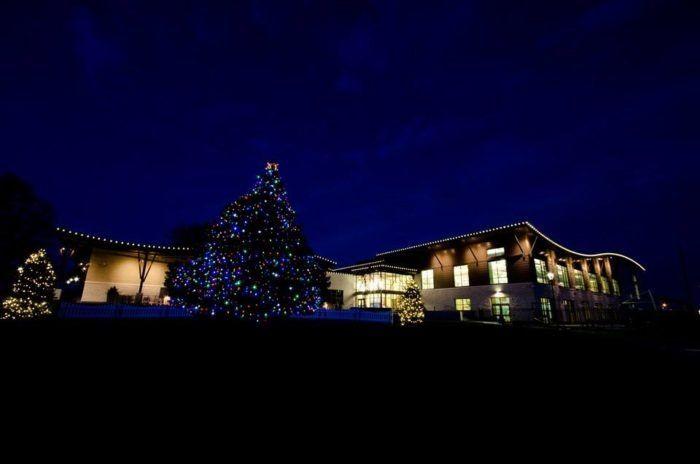 Kansas Christmas Lights 2020 6. Stagecoach Park   1205 E Kansas City Rd., Olathe, Kansas in