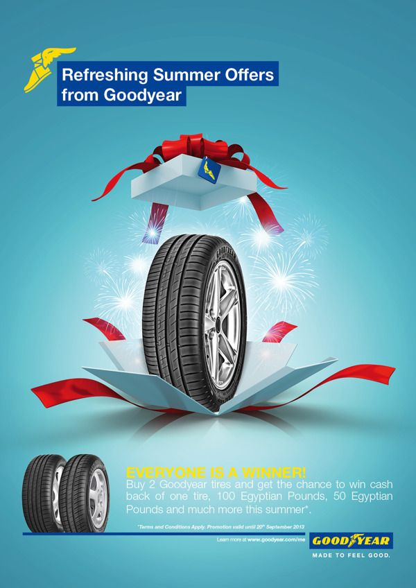 GoodYear Ads by Ahmed Edrees