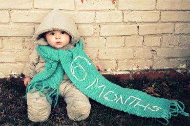 Fotos del primer año del bebé. Un recuerdo para toda la vida