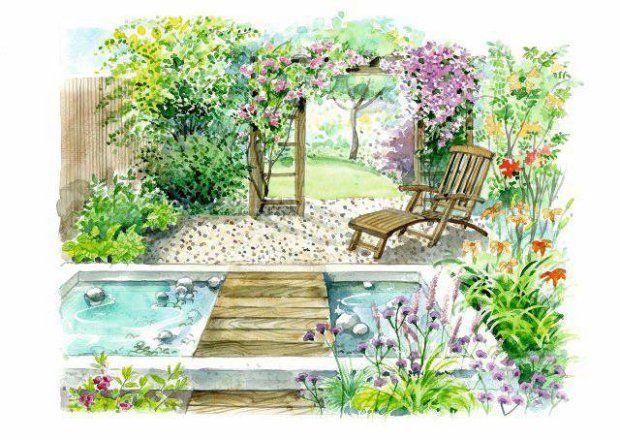 390 best Landscape design drawing images on Pinterest ...