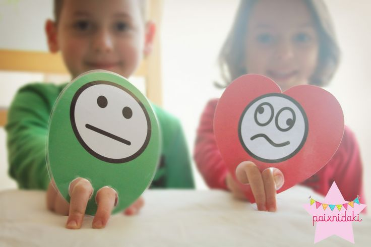 Παιχνίδια με τα σχήματα και τα συναισθήματα. Δωρεάν εκτυπώσιμα!