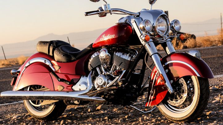 2014 Indian Chief Classic Motorcycle : Overview