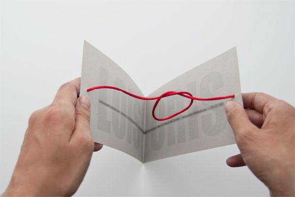 invitation tying knot