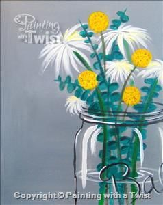 17 best images about painting with a twist on pinterest for Paint and wine lexington ky