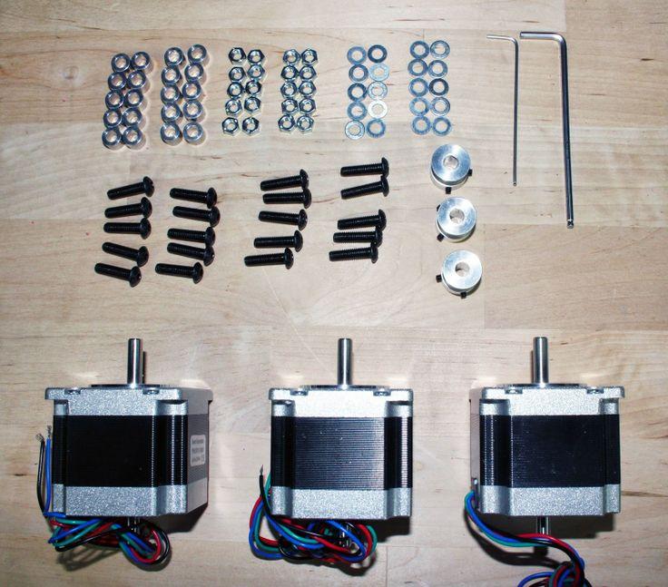 Inventables Blog: Upgrading your Shapeoko 2 with NEMA 23 motors