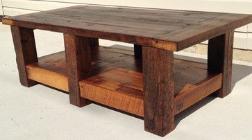 Barnwood Coffee Table traditional coffee tables