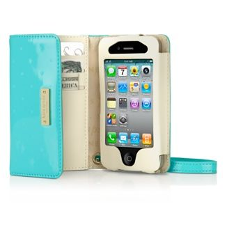 Kate Spade New York iPhone 4S Aqua Wristlet