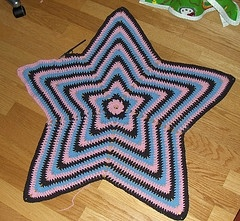 Star Shaped afghan Crochet Ideas Pinterest Free ...
