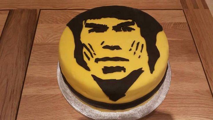 The 42 best ki cakes images on pinterest cake wedding christmas bruce lee birthday cake publicscrutiny Choice Image