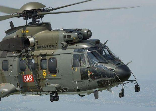 Swiss Air Force SAR Super Puma.