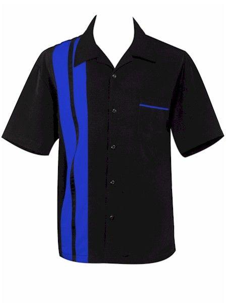 MARCUSSI : Retro Bowling Shirt