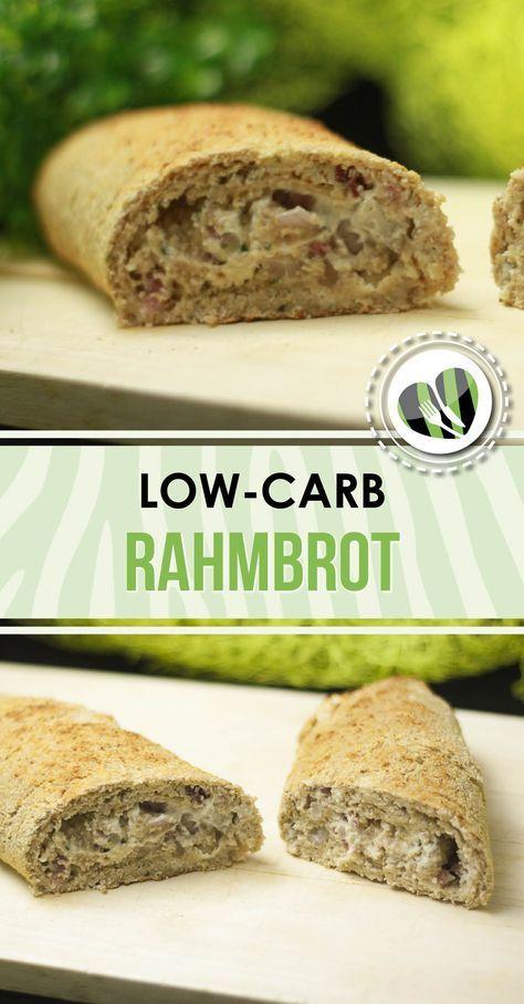 Das Rahmbrot ist low-carb und super lecker. Es schmeckt zum Grillen aber auch pur.