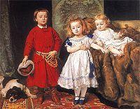 Portret trojga dzieci artysty