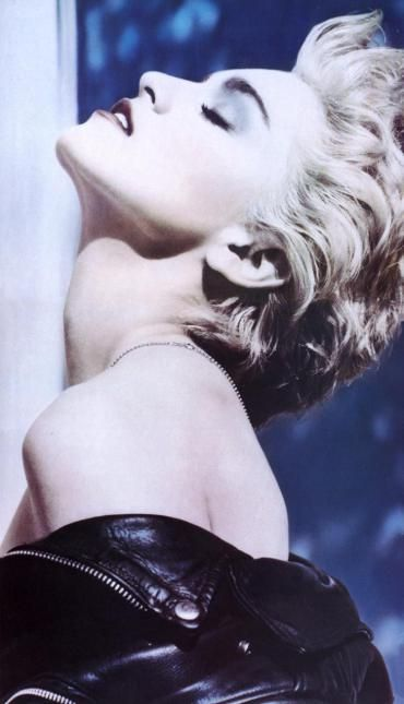 "Madonna, ""True Blue"", photo by Herb Ritts"
