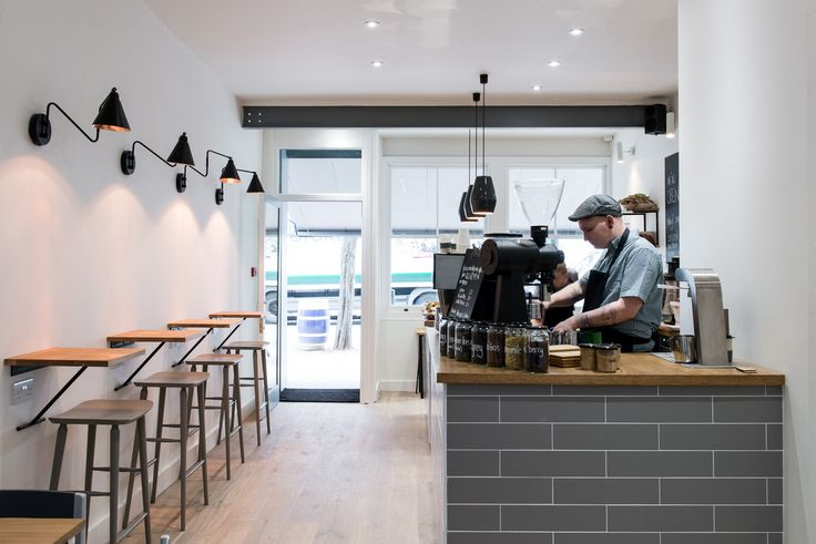 KIN Cafe, London. For more inspiring cafés & interior design ideas, go to www.karinecandicekong.com