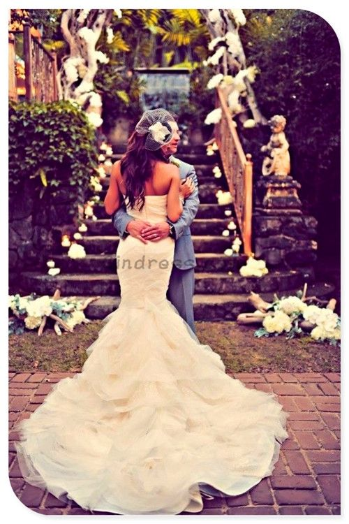 Mermaid wedding dress Mermaid wedding dresses .... MUST HAVE A MERMAID DRESS!!!!