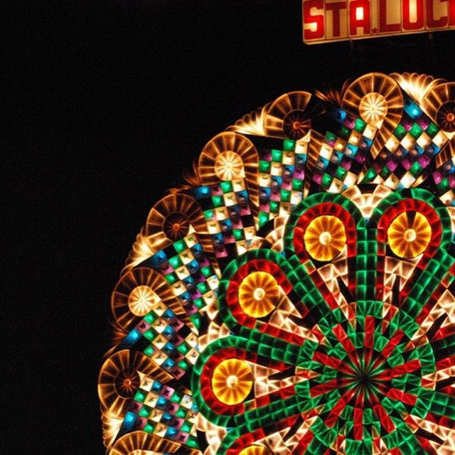 An epically joyous #tbt to No. 5 Celebration. Each Christmas, the nine barrios of San Fernando, Philippines compete to create light shows from lanterns 20 feet in diameter with thousands of bulbs. The code for each frame of the show is painstakingly carved by hand into an analog rotor. Photo by Raphael Emmanuelle Kalaw. Full article unlocked at http://msm.ag/msglow