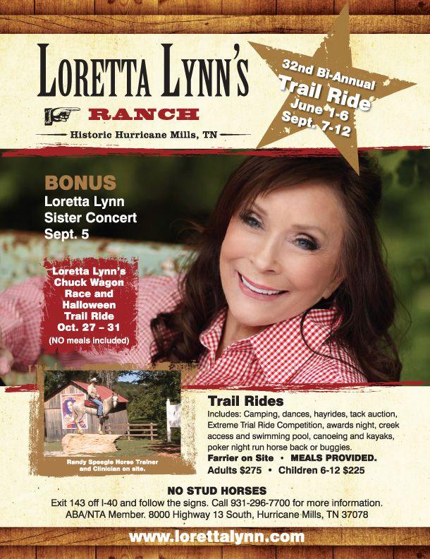 Loretta Lynn Ranch | Official Site of Loretta Lynn's Ranch