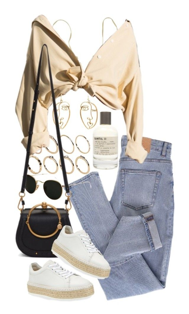 """Untitled #11595"" by nikka-phillips ❤ liked on Polyvore featuring Cheap Monday, ASOS, Ray-Ban, Forever 21, Le Labo, Chloé and rag & bone"