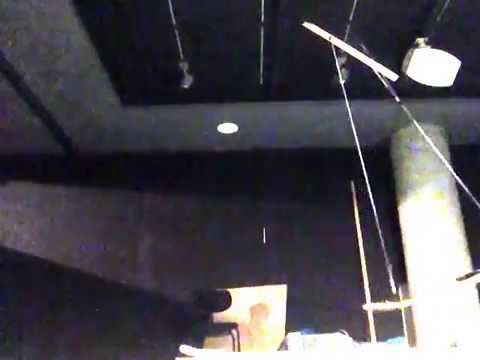 "Preparing a sound installation for a theater performance Oct. 2015 For whom the bell tolls, an expression from a sermon by John Donne. : ""... never send to k..."