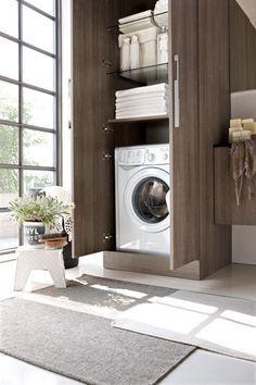 armadio bagno lavanderia - Di Giacomo Pavimenti