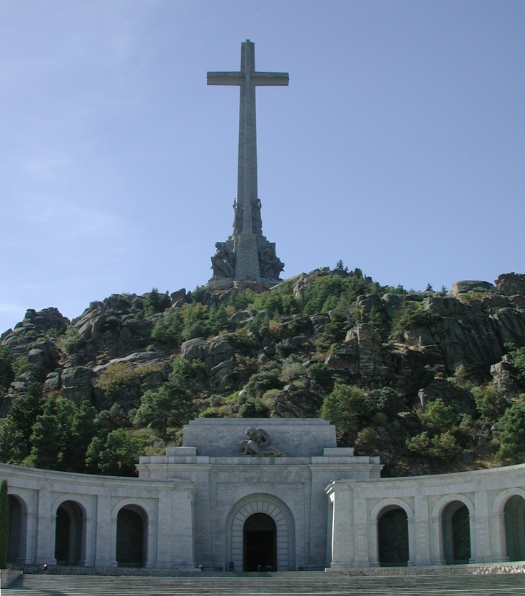 Valley of the Fallen - Spain - Franco's Monument. now closed. Perhaps forever?