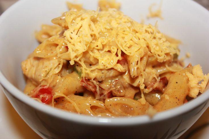 Kylling Fajitas Pasta - Knallgod
