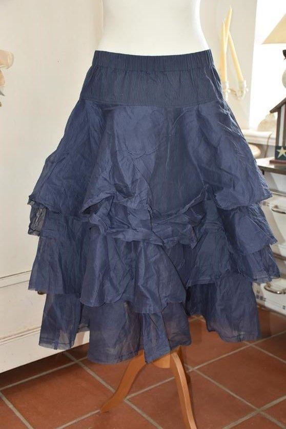 ewa i walla rock tine 22895 hard voile blue kleidung kleider