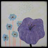 Watercolor, mixed media art. ©Sheila Nielsen