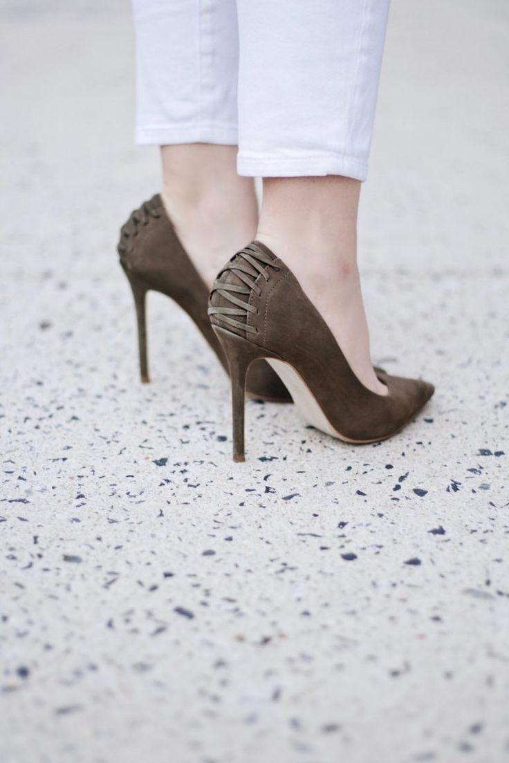 Steve Madden Lace Up Pumps