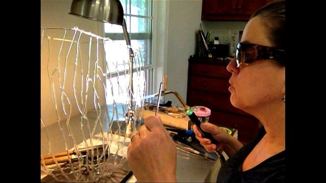 This video was filmed in my Columbus, Georgia studio in April 2013.  The video explores the ideas and process used to create intricate glass sculpture using borosilicate glass rods.  I will continue to add to this series of studio videos as it gives an interesting glimpse into the development of sculptural concepts.