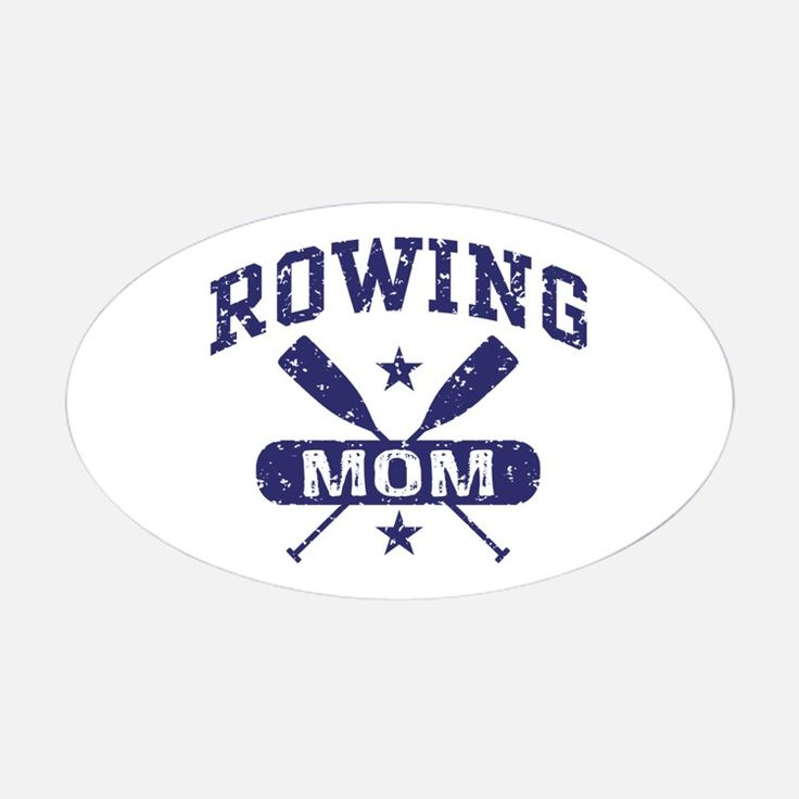 Rowing Mom Decal for